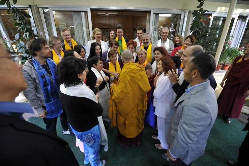 dalai lama cu simona baciu
