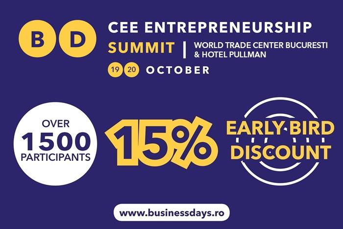 early bird cee entrepreneurship summit