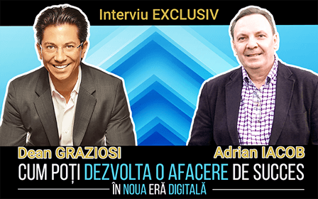 Interviu EXCLUSIV cu Dean Graziosi