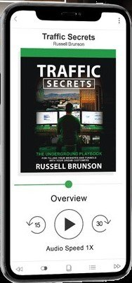 do you want the audiobook? (Traffic Secrets)