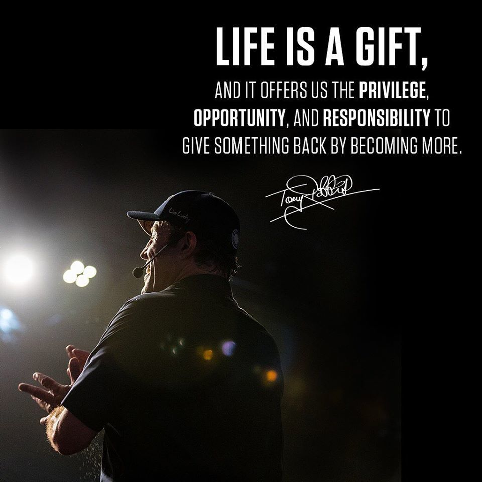 Tony Robbins - Life is a gift
